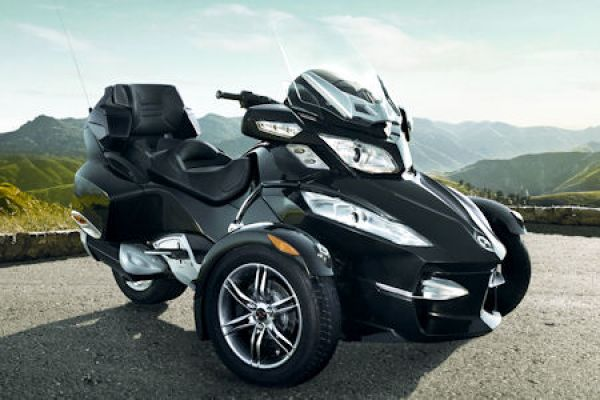 can am spyder rt roadster touring das schnelle reise. Black Bedroom Furniture Sets. Home Design Ideas