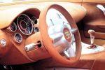 Bugatti EB 18/4 Veyron Design Studie 1999 Supersportwagen Interieur Innenraum Cockpit Lenkrad