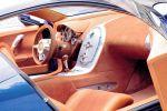 Bugatti EB 18/4 Veyron Design Studie 1999 Supersportwagen Interieur Innenraum Cockpit