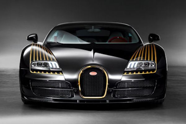 bugatti grand sport vitesse black bess echtes gold und. Black Bedroom Furniture Sets. Home Design Ideas