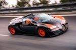 Bugatti Veyron 16.4 Grand Sport Vitesse 8.0 W16 Cabrio Roadster Geschwindigkeitsweltrekord Speed Ehra-Lessien Anthony Liu Front Seite