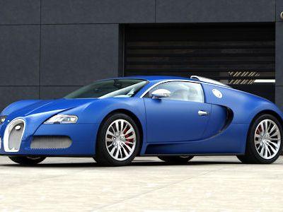 Bugatti Veyron 2009 on Bugatti Veyron Bleu Centenaire   Zum 100j  Hrigen Wurde Er Blau