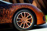 Bugatti Veyron Grand Sport 8.0 W16 Cabrio Bernar Venet Formel Art Car Rad Felge