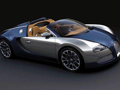 Bugatti Veyron 2009 on Bugatti Veyron Sang Bleu  Der Offene Grand Sport In Neuer Fassung