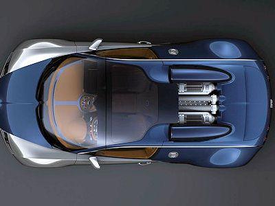 Bugatti veyron grand sport sang bleu roadster unikat midnight blue