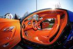 Cam-Shaft Bugatti Veyron Sang Noir 8.0 V16 Folierung Chromblau Interieur Innenraum Cockpit