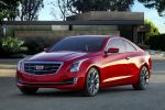 Cadillac ATS Coupe 2.0 Turbo 3.6 V6 CUE Cadillac User Experience Magnetic Ride Control Front Seite