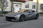Cam Shaft Ferrari F12 Berlinetta 6.3 V12 Folierung Titanium Matt Metallic Front Seite