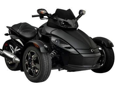 can am spyder roadster black phantom kit wie ein geist auf drei r dern speed heads. Black Bedroom Furniture Sets. Home Design Ideas