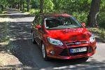 Ford Focus Turnier Test - Front Ansicht von vorne seitlich Seite