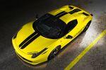 Capristo Ferrari 458 Italia Spider Berlinetta Cabrio 4.5 V8 Motorklappe Glasscheibe Airbox Sportagasanlage Front