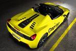 Capristo Ferrari 458 Italia Spider Berlinetta Cabrio 4.5 V8 Motorklappe Glasscheibe Airbox Sportagasanlage Heck