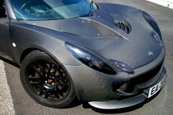 TW Autosport Lotus Elise Carbon Front