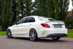 Carlsson Mercedes-Benz C-Klasse W205 AMG Sportpaket Limousine Bodykit Aerodynamik Kit 1/10 Heck Seite