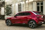 Citroen Wild Rubis Concept SUV DS Linie Plug-in-Hybrid Elektromotor Guilloche Heck Seite