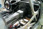 134Judd BMW 135i 1er Innenraum Interieur Cockpit Lenkrad Tank Trägerplatte Steuergerät 3.4 V8 Hillclimb Championship Bergrennen