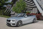 Daehler BMW M235i Cabrio Competition Line F23 3.0 Reihensechszylinder Tuning Leistungssteigerung xDrive Allrad Kompaktsportler Gewindefahrwerk Abgasanlage MID-Display Front Seite