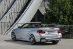 Daehler BMW M235i Cabrio Competition Line F23 3.0 Reihensechszylinder Tuning Leistungssteigerung xDrive Allrad Kompaktsportler Gewindefahrwerk Abgasanlage MID-Display Heck Seite