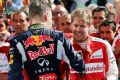Daniil Kwjat und Sebastian Vettel kommen weiter prächtig miteinander aus