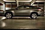 BMW X6 35d Test - Seiten Ansicht seitlich Felge vorne hinten