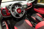 Fiat 500L Custom SEMA 2014 Mopar Minivan Kombi MPV Familienvan Interieur Innenraum Cockpit
