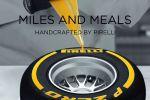 Pirelli Miles and Meals Formel 1 Kochbuch Rezepte