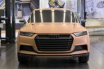 Audi Design Strategie Atelier Produktdesign Crosslane Coupe Concept Crossover Carbon CFK GFK Multimaterial Spaceframe Front Ansicht