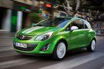 Opel Corsa Facelift Modelljahr MY 2011 Front Seite Ansicht Color Line Color Stripes