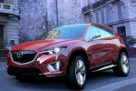 Mazda Minagi Concept Kompakt Crossover SUV CX-5 Kodo Soul of Motion SKYACTIV Front Seite Ansicht