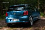 VW Polo BlueMotion GT Test - Heck Ansicht hinten Heckklappe Kofferraum Rücklichter Stoßstange