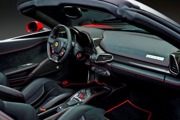 Ferrari Sergio Pininfarina 458 Italia Spider Cabrio Roadster 4.5 V8 Interieur Innenraum Cockpit