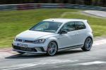 VW Volkswagen Golf GTI Clubsport S Rundenrekord Nürburgring Nordschleife Benjamin Leuchter 2.0 TSI Vierzylinder Turbobenziner Hot Hatch Kompaktsportler Performance Front Seite
