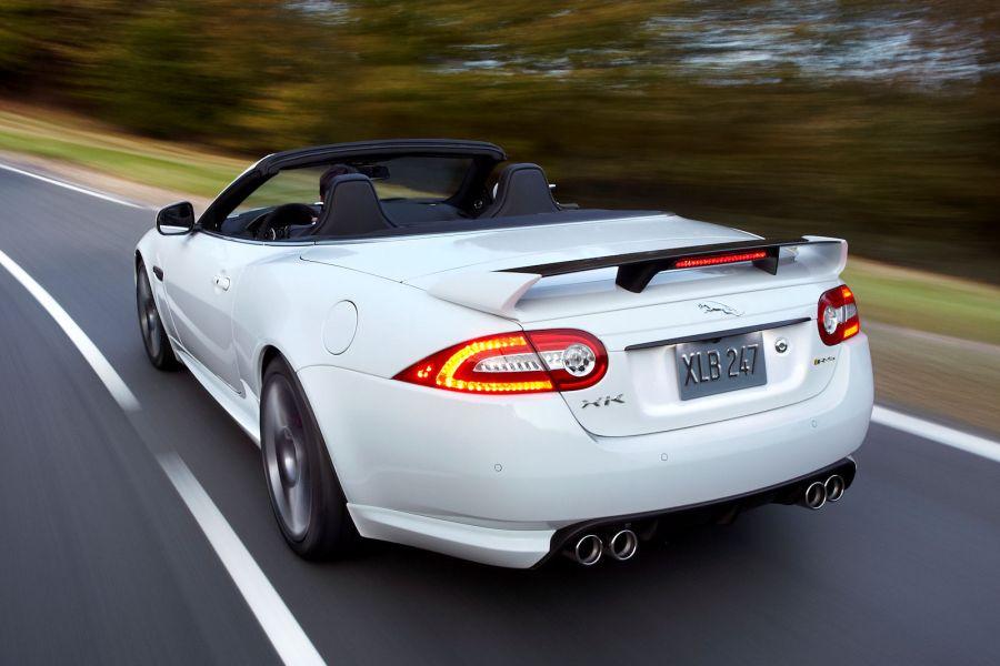 jaguar xkr s cabrio brachial offen und 300 km h schnell. Black Bedroom Furniture Sets. Home Design Ideas