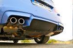 BMW M5 (F10) Test - Auspuff Abgasanlage Duplex Diffusor Heck Kennzeichen Leuchten Rückleuchten Sound