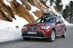 BMW X1 xDrive28i EfficientDynamics 2.0 Vierzylinder TwinPower Turbo Allrad Front Seite Ansicht DSC DBC DTC ABS
