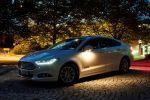 Ford Mondeo Frontlicht GPS Daten Navigationssystem Lichtkegel