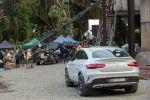 Mercedes-Benz Jurassic World GLE 450 AMG Coupé Dinosaurier Heck