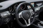 Mercedes CLS 63 AMG Shooting Brake Test - Lenkrad Innenraum Nappa Alcantara Cockpit Tacho Carbon