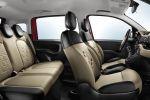 Fiat Panda 2012 3. Generation 0.9 TwinAir Zweizylinder 1.2 FIRE Vierzylinder 1.3 Multijet II Turbo Diesel Natural Power Erdgas Easy Power Autogas LPG Gear Shift Indicator Skydome Glasdach Interieur Innenraum Sitze