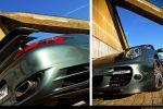 Porsche 997 Turbo Cabrio Test - Heck Ansicht hinten Front Ansicht vorne
