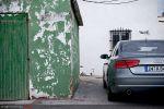 Audi A8 4,2 FSI Test - Heck Ansicht hinten Heckleuchte Rücklicht Scheinwerfer