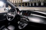 Fiat 500 TwinAir Plus 0.9 Zweizylinder Turbo MultiAir Dualogic Eco Interieur Innenraum Cockpit