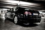 Lexus GS450h Test - Rückleuchten Heck Ansicht hinten schwarz Heckleuchten Kofferraum Stoßstange