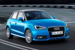 Audi A1 Sportback Facelift 2015 Kleinwagen TFSI TDI ultra S tronic Vierzylinder Dreizylinder Turbo Audi Drive Select MMI Navigation plus Audi Connect WLAN Internet Smartphone Front Seite
