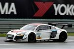 Mamerow Racing Audi R8 LMS ultra 5.2 V10 Rennwagen ADAC GT Masters Nürburgring Christian Mamerow Rene Rast Front Seite Ansicht