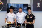 Pirelli Miles and Meals Wettkochen Jenson Button Romain Grosjean Formel 1 Monaco Monte Carlo