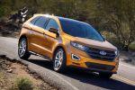 Ford Edge 2016 Premium SUV Crossover 2.0 TDCi Vierzylinder Diesel PowerShift Torque Vectoring Control Front Seite