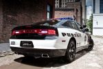 Dodge Charger Pursuit Mopar Police Car Polizeiauto 3.6 V6 5.7 V8 HEMI Heck Seite Ansicht