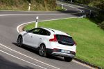 Volvo V40 Cross Country T5 AWD Allrad drive E Vierzylinder SUV Crossover Geatronic Sensus Connect Internet App Heck Seite