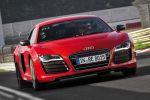 Rekord Nürburgring Nordschleife Audi R8 e-tron Sportwagen Elektroauto Elektromotor Markus Winkelhock Front Ansicht
